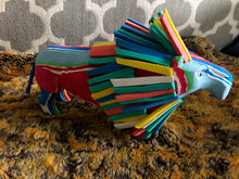 Recycled Flip Flop Sculpture from Kenya - Lion