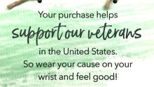 World Finds Cause Connection Support Veterans Bracelet Set - Fair Trade