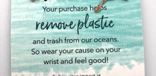 World Finds Cause Connection Clean Up Clean Oceans Bracelet Set - Fair Trade