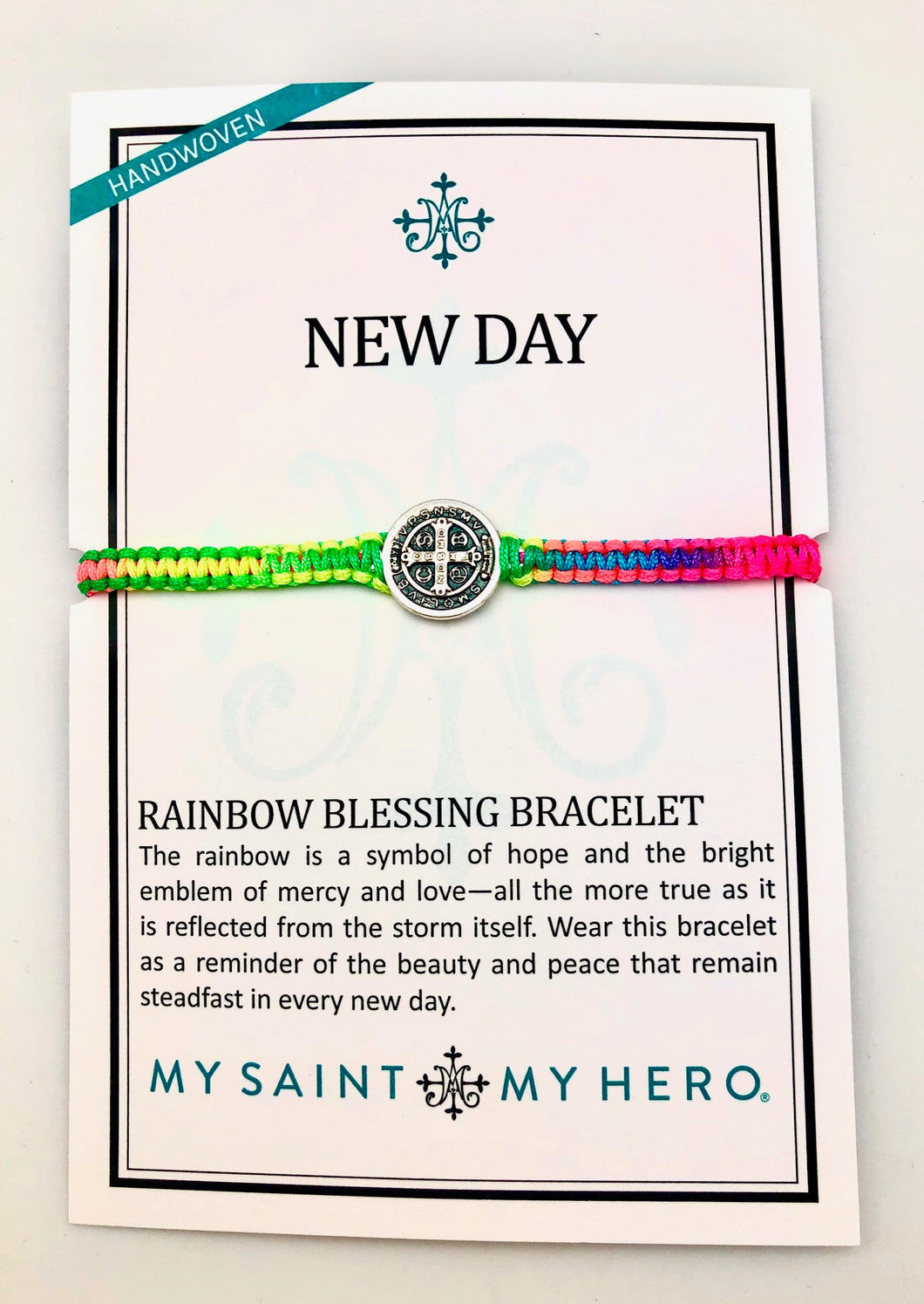 My Saint My Hero New Day Rainbow Hope Bracelet