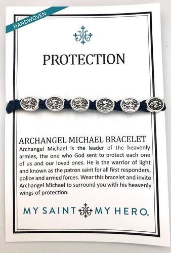 My Saint My Hero Saint Michael Protection Bracelet