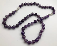 Amethyst tranquility convertible mala necklace and bracelet