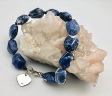 Peyote Bird Spiritual Strength and Perception Sodalite Bead Bracelet