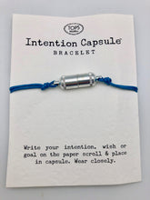 Silver Intention Capsule Slip Bracelet - Wear Your Dreams On Your Wrist
