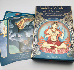 Buddha Wisdom Shakti Power Affirmation Card Deck and Book