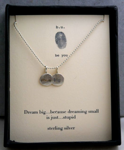 B.U. Dream Big Charm Necklace