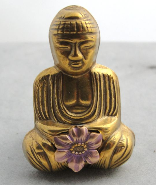 Jan Michaels Serenity Garden Buddha Ring