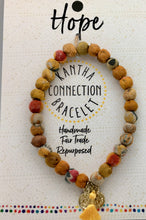 Fair Trade Recycled Kantha Connection Affirmation Bracelets