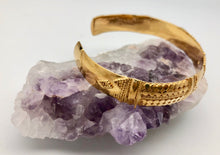 Love Is Project Indonesian Gold Love Cuff Bracelet