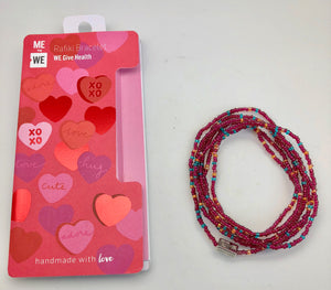 ME to WE Rafiki Health & Wellness Bracelet - Hearts & Love