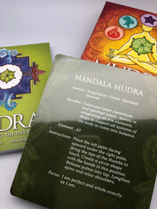 Mudras for Awakening the Five Elements Affirmation Card Deck and Book