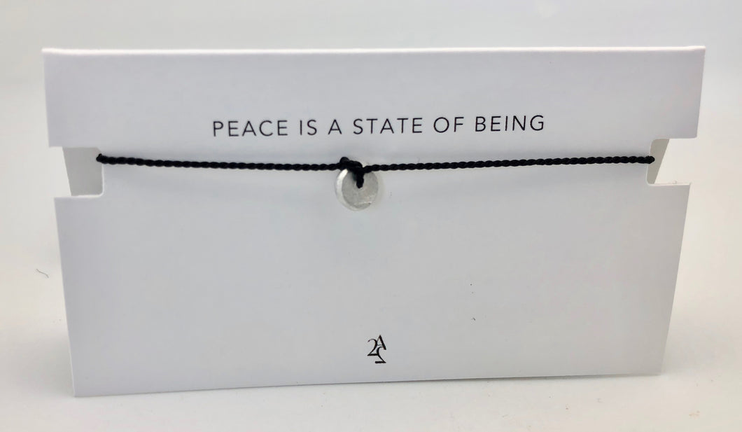 Article 22 Peace Bomb Mantra Bracelet - Peace is a State of Being
