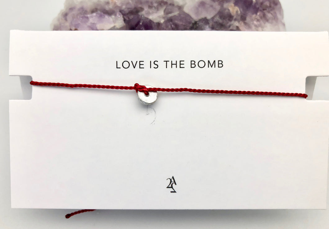 Article 22 Peace Bomb Mantra Bracelet - Love is The Bomb