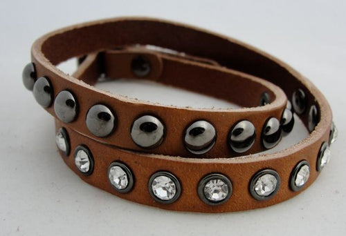 Rush by Dennis and Charles Leather Wrap Bracelets