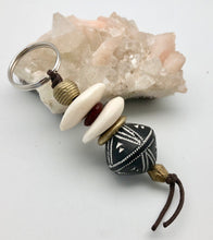 African Trade Beads Limpopo Dreams Bead Key Ring