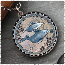 Spirit Lala Reversible Necklace with Dolphin Best Part of the Adventure Charm
