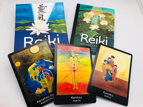 Reiki Oracle Card Deck and Book
