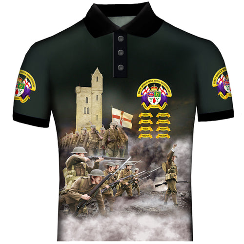 ULSTER 36 th DIVISION 100 YEARS ANNIVERSARY WW1 POLO SHIRT NEW