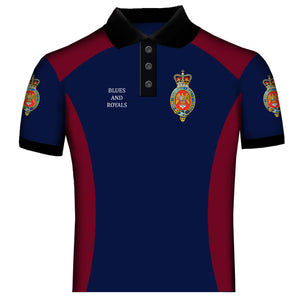 Household Cavalry Blues and Royals Polo Shirt
