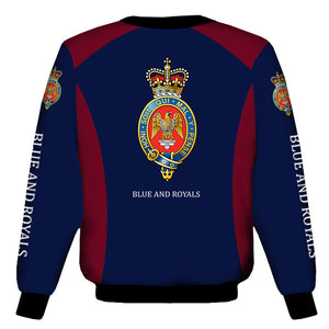 Household Cavalry Blues and Royals Sweat Shirt