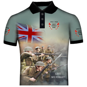 Poppy WW1  Polo Shirt  0B10