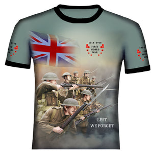Poppy WW1 T .Shirt 0B10