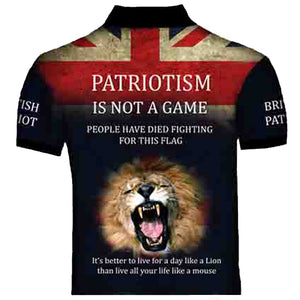 British Patriot 2  Polo Shirt