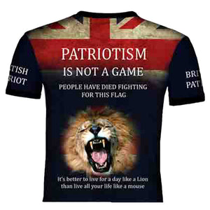 British Patriot 2     T .Shirt