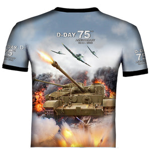 D-DAY 75th ANNIVERSARY BRITISH TANKS T .Shirt