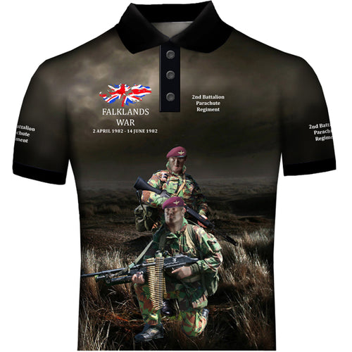 Parachute Regiment Falklands POLO SHIRT