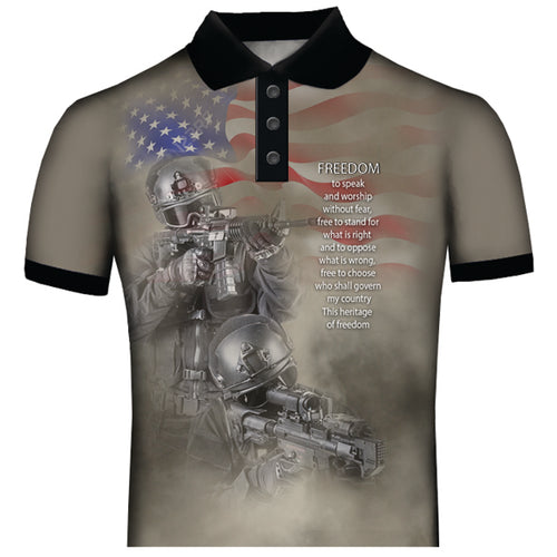 American Freedom Polo Shirt