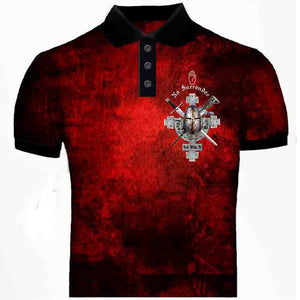 No Surrender Polo Shirt