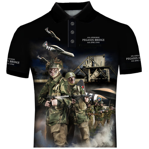 Copy of Pegasus Bridge  POLO SHIRT