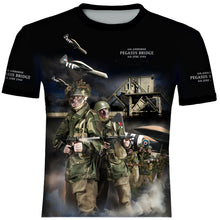 D - Day  75th Anniversary Pegasus Bridge  T SHIRT 0B7