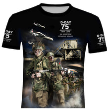 D-DAY 75th ANNIVERSARY PEGASUS BRIDGE T .Shirt