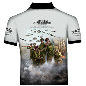 Arnhem  airborne forces Polo Shirt 0B8