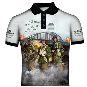 1st AIRBORNE BATTLE OF ARNHEM POLO SHIRT