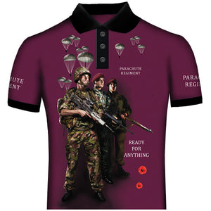 Ready For AnythingThe Paras Polo Shirt 0B4