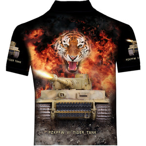 Tiger tank Polo Shirt  0T3