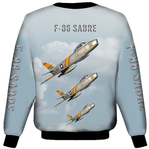 North American F-86 Sabre Sweat Shirt