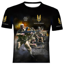 SPECIAL AIR SERVICE  W0RLD WAR 2  T SHIRT