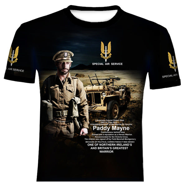 SAS WORLD WAR 2  T SHIRT