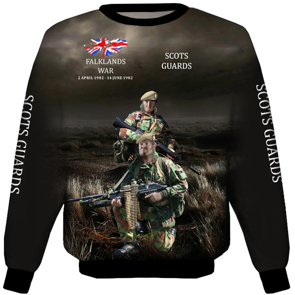 Scots Guards Falklands  Sweat Shirt 0B26