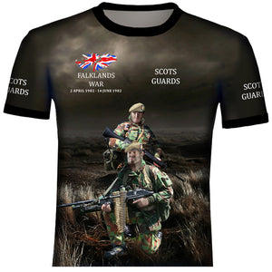 Scots Guards Falklands  T Shirt 0B26