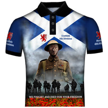 9th Scottish Division  Polo Shirt