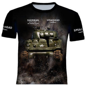 Sherman Hell on Weels T Shirt