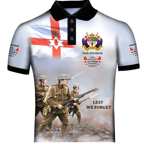 The Somme 36th Division  Polo Shirt