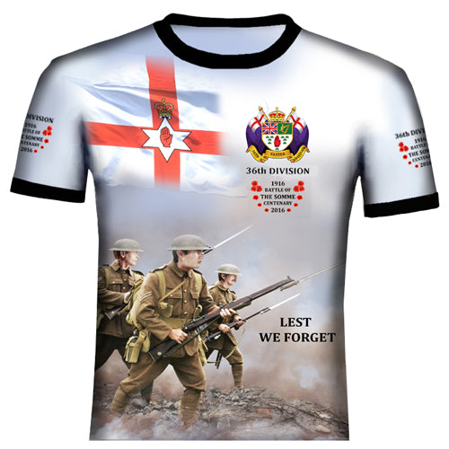 The Somme 36th Divison  T .Shirt