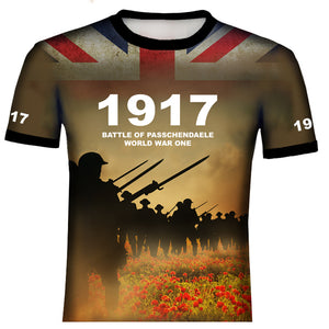 Battle of Passchendaele 1917 WW1 T .Shirt
