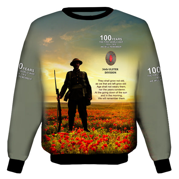 100 YEARS 36th DIVISION  SWEAT SHIRT